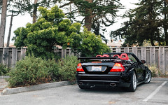 CLK DTM Cabrio (Alex Penfold) Tags: mercedes clk dtm cab cabrio cabriolet convertible black red interior america usa california monterey car week 2017 supercars supercar super cars autos alex penfold