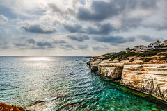 Sea View (GP in Greece for a week) Tags: seacaves peyia cyprus sea villas seaview hdr