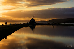 Caledonian Canal Sea Lock 16 September 2017 6.jpg (JamesPDeans.co.uk) Tags: timeofday landscape water northsea prints for sale unitedkingdom canal man who has everything britain wwwjamespdeanscouk caledoniancanal landscapeforwalls europe uk sunset highlands gb reflection transporttransportinfrastructure canals objects digital downloads licence scotland shore hdr beaulyfirth greatbritain camera industry sea inverness coast invernessshire james p deans photography
