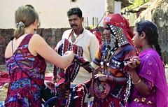 Anjuna market commerce (bokage) Tags: india goa anjuna market bokage shopping