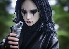 Crow (lukoshka) Tags: dollshe dollshecraft saint bjd crow cosplay doll dollphoto bjdphoto