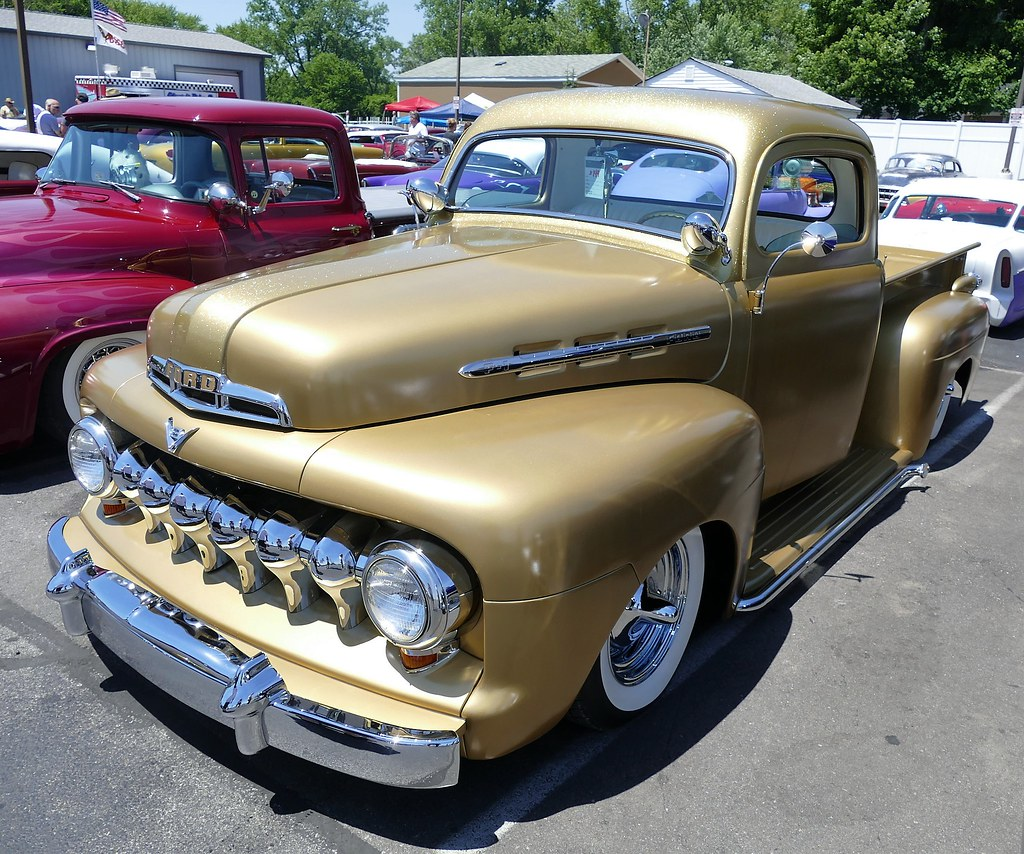 1949 1950 1951 Shoebox Ford Custom Chopped Lowered: The World's Most Recently Posted Photos Of 1951 And Ford