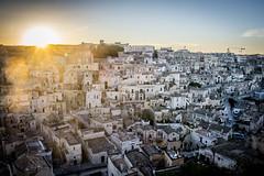Sunset in Matera (f.ciri) Tags: matera sunset basilicata town italy sud historical