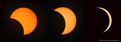 Today's eclipse.  We got to about 90% totality here. (carpingdiem) Tags: eclipse 2017 indianapolis sun