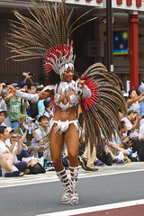 The 36th Asakusa Samba Carnival (2017) (DigiPub) Tags: tokyo 東京 浅草サンバカーニバル 1194728 asakusasambacarnival 840326912 annual event arts culture entertainment asakusa samba carnival brazilian ethnicity capital cities city street color image day feather full length japan large group of people outdoors photography road dancing sensuality sex symbol shitamachi stage costume performer toothy smile vertical