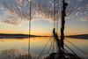 Midnight Light (loomstone) Tags: greenland scoresbysound midnightsun donnawood sunset beautifulclouds arcticcircle