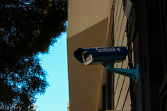 BIG BROTHER IS WATHCING YOU (Jay.Fry) Tags: big brother is watching you san fransisco facebook camera blue