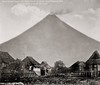 Mayon Volcano, Legaspi City, Albay province. Southeast Luzon, Philippines, 1899 (J. Tewell) Tags: mayonvolcano legaspicity albayprovince southeastluzon oldphilippines