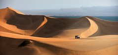 namibia 2017 (mauriziopeddis) Tags: africa namibia sandwich harbor desert sand 4x4 sky jeep fuoristrada reportage adventure deserto