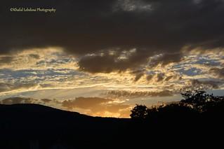 Sunset, Clouds, Sky, Dusk, France