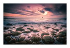 This is the Sea (David Haughton) Tags: porthnanven cotvalley stjust cornwall cornish sea seascape boulders thebrisons sunset evening waves shore shoreline beach rocks fineart landsape davidhaughton