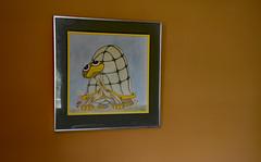 Turtle Thoughts (BKHagar *Kim*) Tags: bkhagar estatesale sale turtle picture art artwork jamie franklin tn tennessee