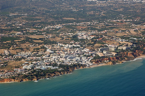 Olhos de Agua from the air