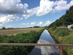 Bei Ostfrees Gatt, Anlegestelle Landschaftspolder (Michiel Thomas) Tags: landschaftspolder rheiderland grenze grens ostfriesland ostfrees gatt anlegestelle