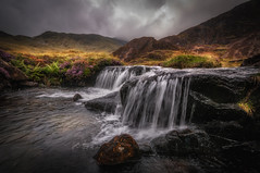 Storm on the way (Einir Wyn Leigh) Tags: water mountains weather rain landscape contrast outdoors light autumn path snowdonia wales cymru uk river colorful nikon sigma