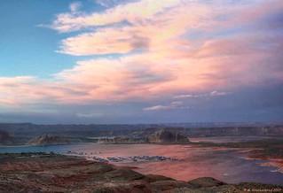Sunset 2, Lake Powell at Page Arizona