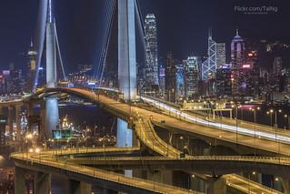 昂船洲大橋,Stonecutters' Bridge,HongKong