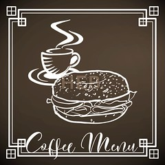 Coffee and Bagel Menu, Chalk on Blackboard (Hebstreits) Tags: art background bagel banner bar beverage black blackboard board breakfast cafe chalk chalkboard coffee cup design dessert dining drawing drawn drink food hand icon illustration lunch meal menu morning mug poster restaurant retro served shop sign sketch template texture typography vector vintage white