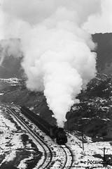2017/1/1 JS8190 Sandaoling (Pocahontas®) Tags: js8190 steam engine locomotive loco railway railroad rail train film 135film kodak tmax400 135