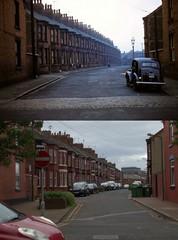 Water Street, Birkenhead, 1957 and 2017 (Keithjones84) Tags: birkenhead wallasey merseyside wirral thenandnow rephotography newbrighton