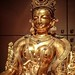 The Buddhist deity White Tara Nepal Gilded copper repousse 1400-1500 CE (2)