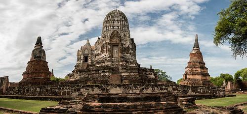 Wat Ratchaburana, Ayutthaya, Thaïlande