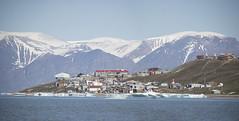 Baffin Island, Nunavut, Canada. (richard.mcmanus.) Tags: baffinisland bylotisland canada nunavut pondinlet town arctic ice mountains mcmanus snow fjord gettyimages