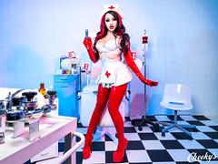 Model : Dani Divine / UK (Cheeky's photographs) Tags: nurse clinic hospital medical medicalfetish mistress danidivine latex houseofharlot naughtynurse medicalplay uniforms goddess dominatrix medicalexam