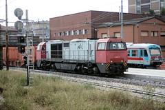 G2000 19 & Aln070, Reggio Emilia, Italy 07-09-17 (Tin Wis Vin) Tags: locos railways italy reggioemilia g2000 ferrovieemiliaromagna fer