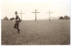 F in church VDB (efo) Tags: bw cross portrait fiona selenium vandyke altprocess print virginia buenavista film