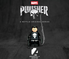 The Punisher 💀 [MCU] [MOD] [CUSTOM] (agoodfella minifigs) Tags: lego marvel marvellego legomarvel minifigures marvelcomics comics heroes punisher netflix defenders daredevil mcu frankcastle thepunisher