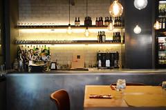 DSC_2391 (fdpdesign) Tags: pizzamaria pizzeria genova viacecchi foce italia italy design nikon d800 d200 furniture shopdesign industrial lampade arredo arredamento legno ferro abete tavoli sedie locali