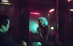 Fire (fraser_west) Tags: 35mm portrait club 200 actor set stripper stripclub lights mood grain filming dance pole canon eos3 lowlight film bts youth girl 2017 colour