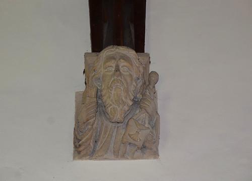 chancel corbel: St James