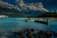 Un goût d'ailleurs (paul.porral) Tags: longexposure poselongue landscape lacdannecy le canon7d water ngc france rhônealpes alpes alps mountain lake flickr