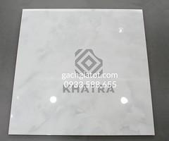 Gạch bóng kiếng kim cương vân mây trắng 80x80