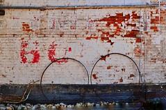 OO (holly hop) Tags: places bealiba brick farmhouse house mainstreet rural ruraldecay stonewall wall signsunday ghostsign sliderssunday postprocessing decay bricks pink