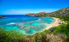 Hanauma Bay Hawaii (meeyak) Tags: hanaumabay hanauma bay oahu hawaii island 808 travel vacation tourist ocean sea water blue bluesky snorkel snorkeling view tropical traveling usa palmtrees aqua meeyak nikon d800 outdoors adventure summer hot warm