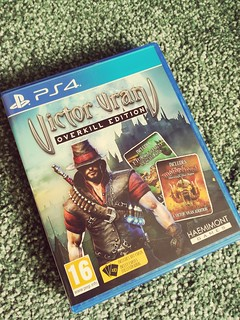Victor Vran Overkill Edition PS4 #videogameroom #ps4 #gaming #gameshed #retrogaming #sony #playstation #videogamecollection #collection #retro #motorhead #lemmy #indie  #