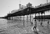 Brighton boy's (stocks photography.) Tags: michaelmarsh photographer photography brighton seaside coast beach brightonboys pier bw blackandwhite coastal downonthebeach canon5dsr canon