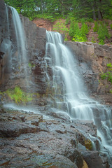 summer flow (jimmy_racoon) Tags: canon 5d mk2 north shore gooseberry falls state park landscape minnesota waterfall canon5dmk2 northshore gooseberryfallsstatepark gooseberryfalls