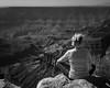 North Rim Meditation (1mpl) Tags: olympusomdem1mk1 arizona grandcanyon northrim coloradoriver canyons deborah bw monochrome niksilverefexpro