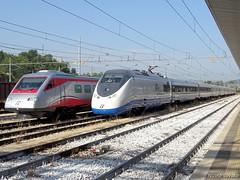 Freschissimi di revisione (nlovato96) Tags: rfi rete ferroviaria italiana etr500 y1 treno prove alta velocità av aiace etr485 frecciargento pendolino fa vicenza ogr omc etr high speed emu