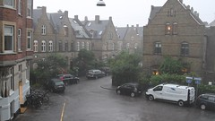 ... thunder and lightning and a lot of water in Copenhagen today ... (ChristianofDenmark) Tags: christianofdenmark copenhagen denmark summer thunder lightning rain wind thunderstorm cloudburst