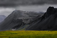 Black and Green (Role Bigler) Tags: canoneos5dsr countryside iceland island landschaft natur nature blackslope europe landscape slope volcanicaera