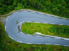 (terje vh) Tags: sognogfjordane norway biking sykling norge på langs gaularfjellet