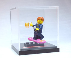 Brick Yourself Custom Lego Figure Collectible Display Case