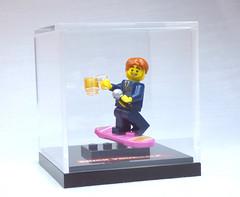 Brick Yourself Custom Lego Figure Collectible Display Case