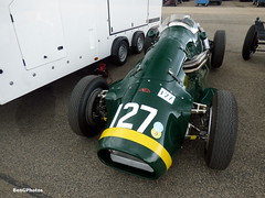 Connaught A-Type (BenGPhotos) Tags: 2017 vscc vintage sports car club formula mallory park classic race racing motorsport autosport motor sport british green connaught atype grand prix