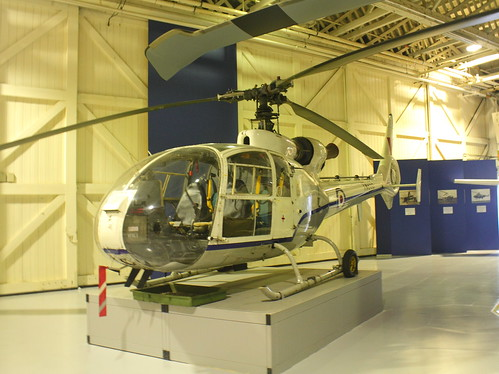 Aerospatiale Gazelle_RAF Hendon Museum_London_May17